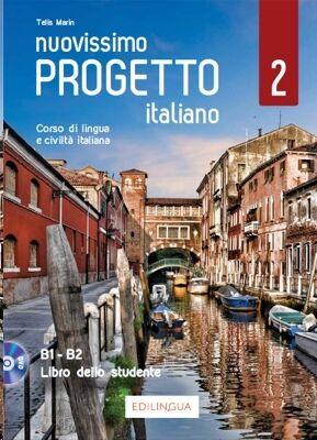 Nuovissimo Progetto italiano 2: Libro dello studente + DVD