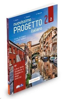 Nuovissimo Progetto italiano 2A: Libro dello studente e Quaderno degli esercizi + CD + DVD 2a