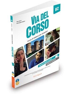 Via del Corso B2 – Libro del professore + 2CD + DVD