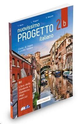 Nuovissimo Progetto italiano 2B: Libro dello studente e Quaderno degli esercizi + CD + DVD 2b