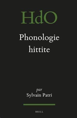 Phonologie hittite
