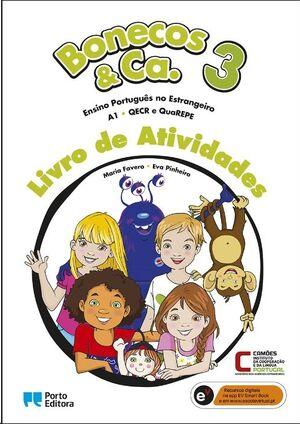 Bonecos & Ca. 3 - Nível A1 - Livro de Atividades