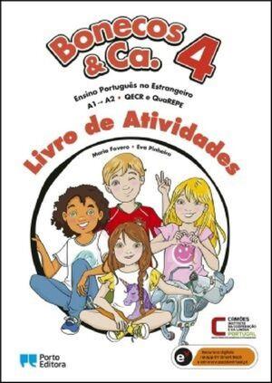 Bonecos & Ca. 4 Nível A1-A2 Livro de Atividades