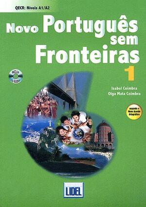 Novo portugués sem fronteiras 1 + 2CD NAO