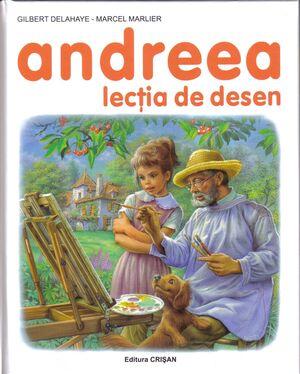 Andreea 7 - Lectia de desen - 3-6 años