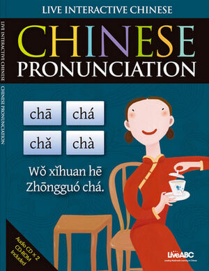 Chinese Pronunciation Book to Include Audit Cds and Cd-rom