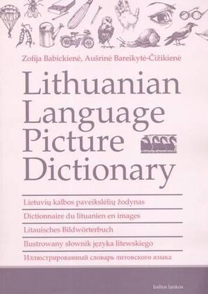 LIthuanian language picture dictionary