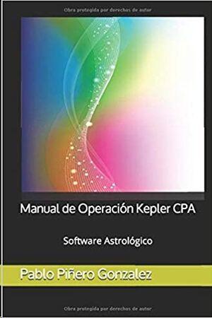 Manual de Operación Kepler CPA: Software Astrológico