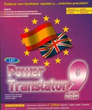 Power Translator 9 PRO Esp-Ing-Esp