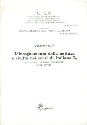 Insegnamento cultura e civiltà