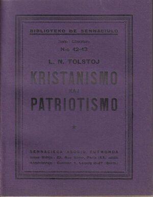 Kristianismo kaj Patriotismo