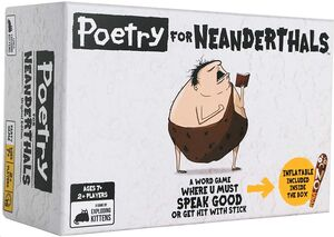 Poetry for Neanderthals Juego de Exploding Kittens - Competitive Word-guessing Card