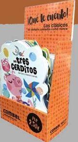 Caja Expositora ¡Qué te cuento! (contiene surtido de 40 ej.)